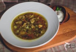 Бабушкин грибной суп